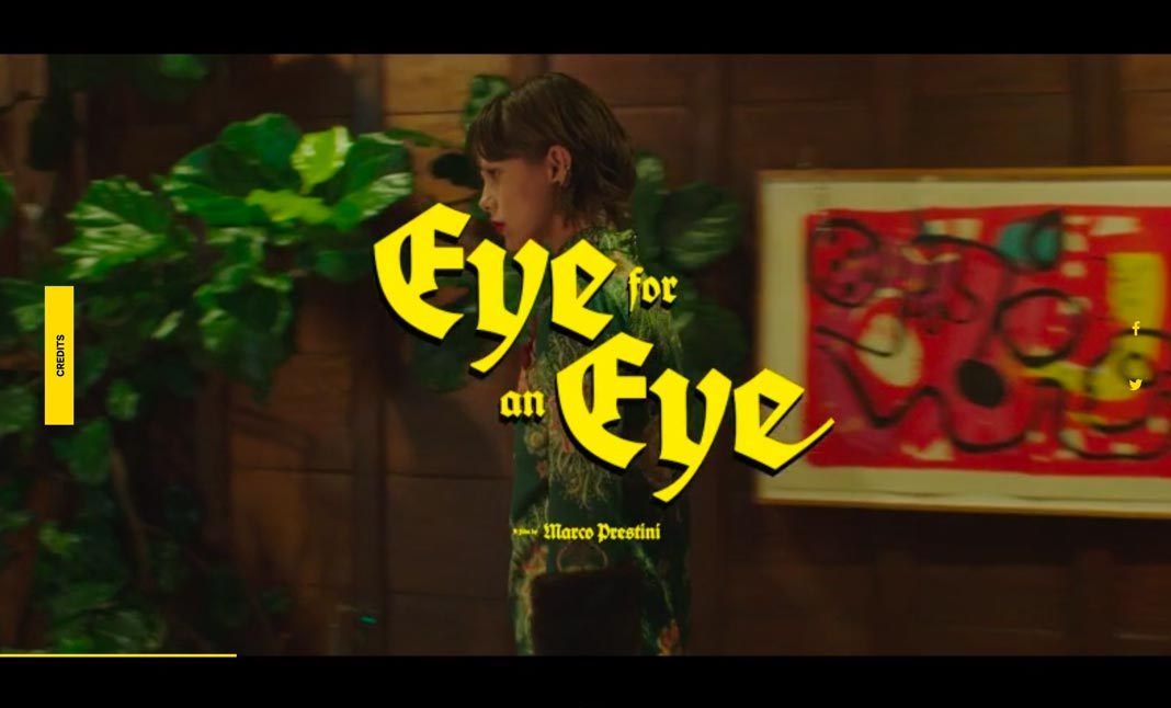 Eye for an eye website