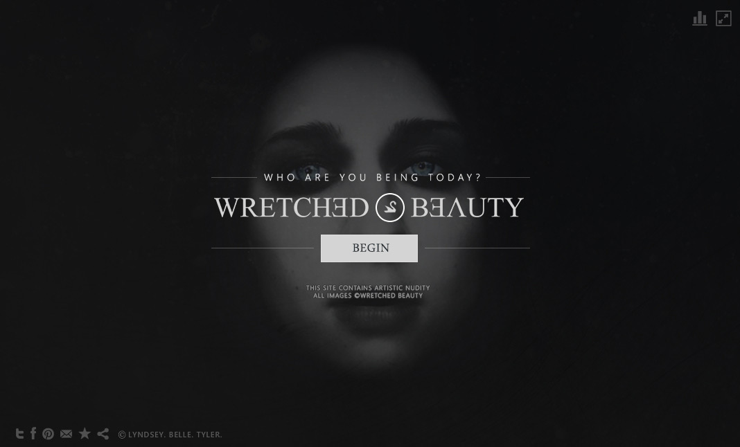 Wretched Beauty website