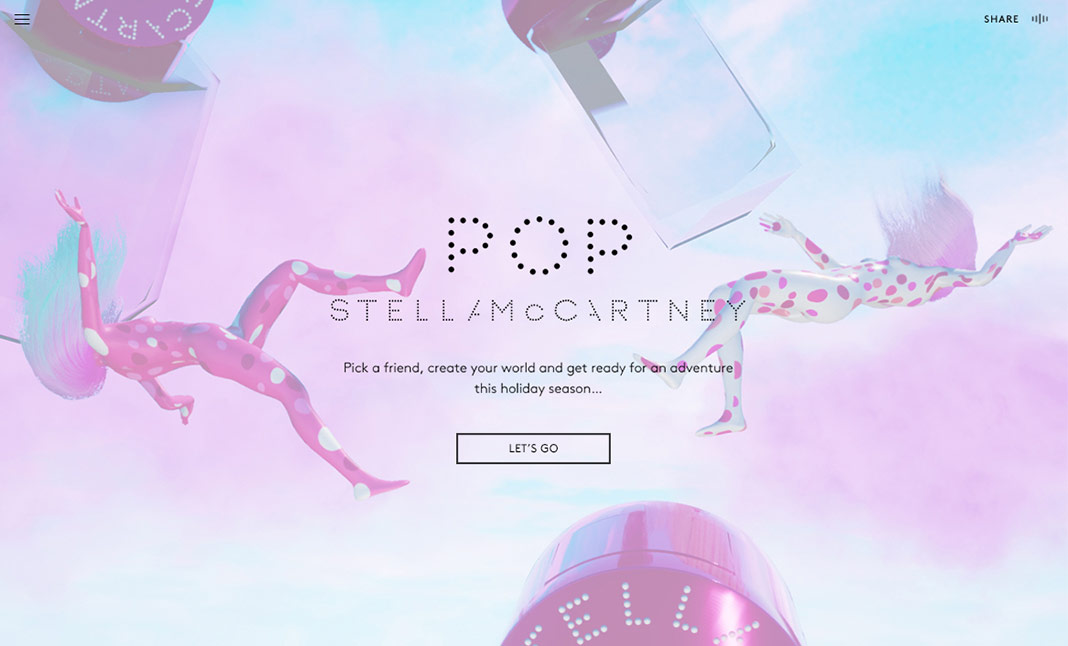 #POPNOW By Stella McCartney website