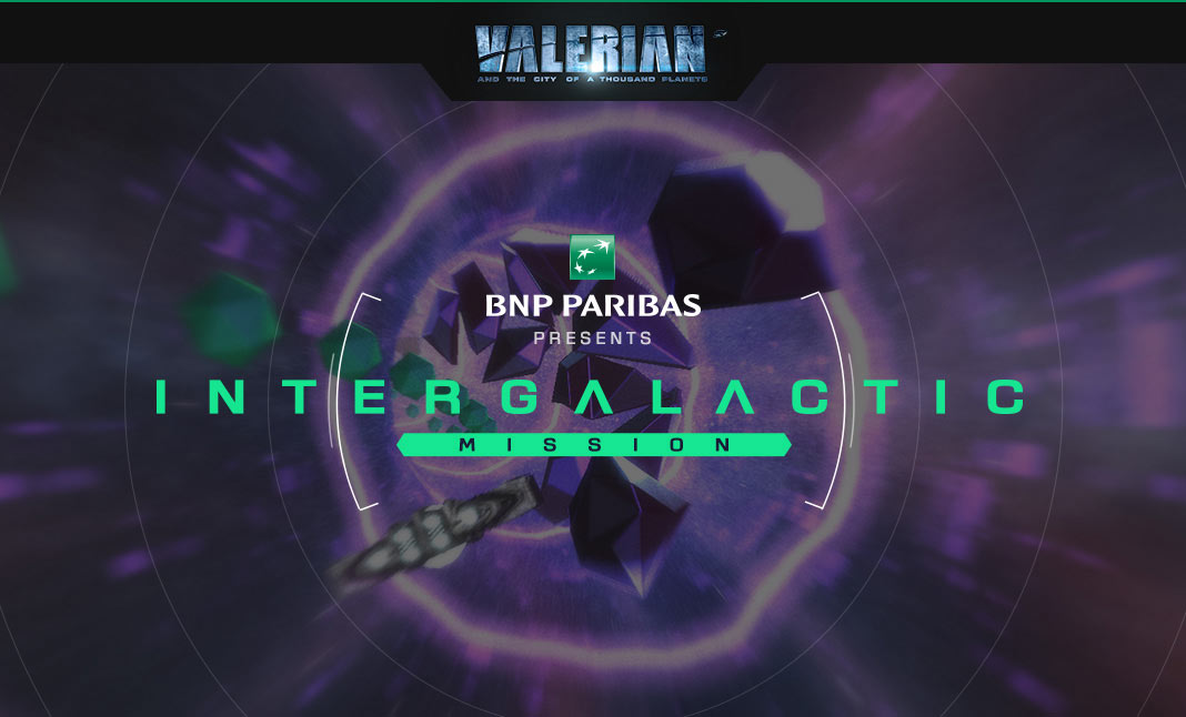 Valerian - Intergalactic Mission website
