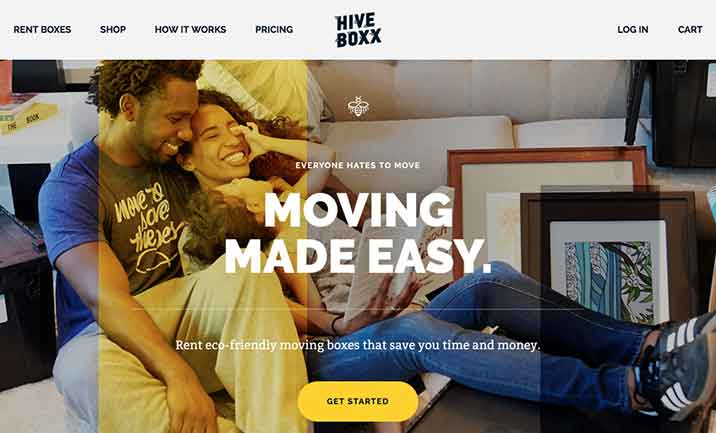 HiveBoxx website
