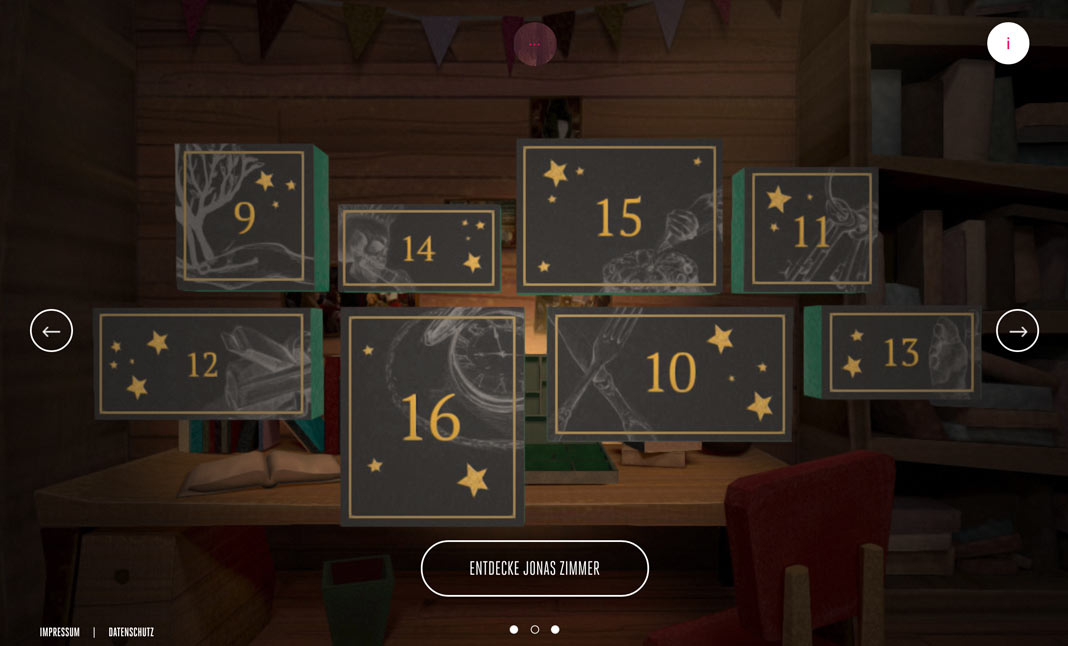 Telekom: Magic Advent Calendar screenshot 2
