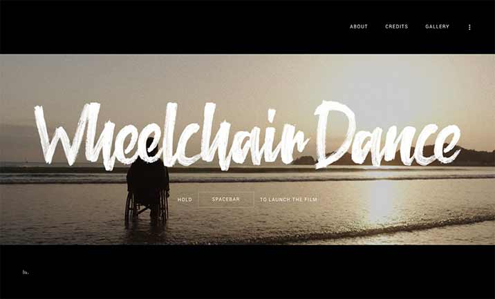 Wheelchair Dance website