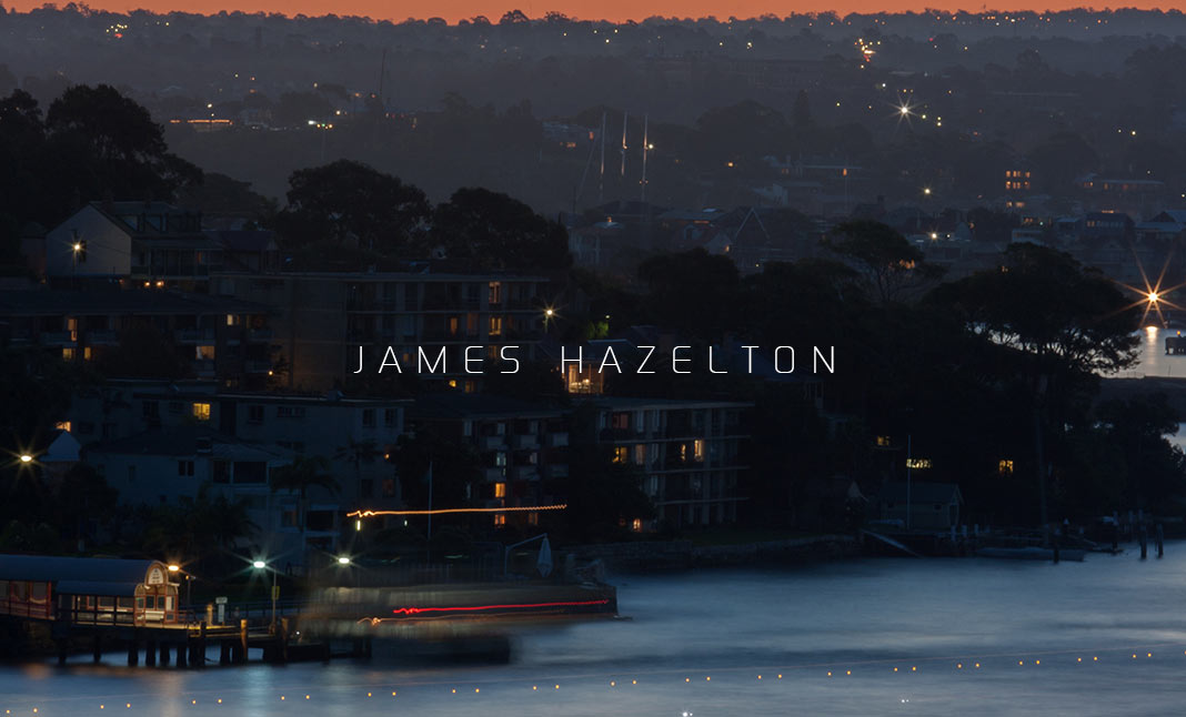 James Hazelton | Photography website