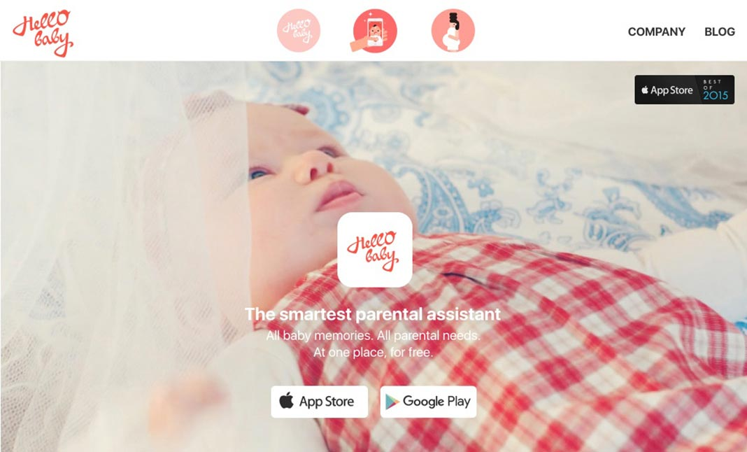 Hello Baby website