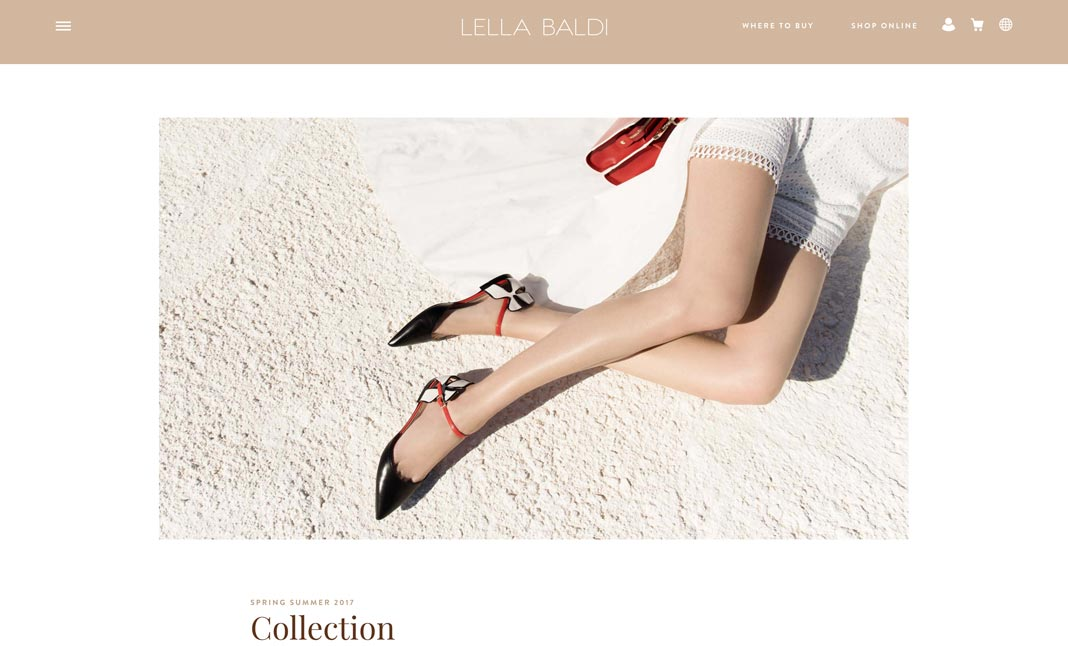 LELLA BALDI website