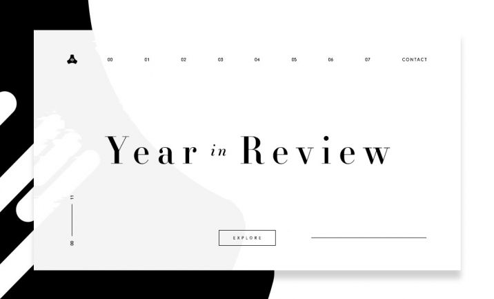 Year In Review website