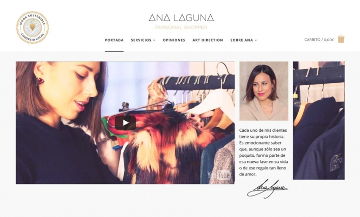 Ana Laguna website