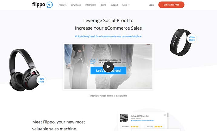 Flippo website