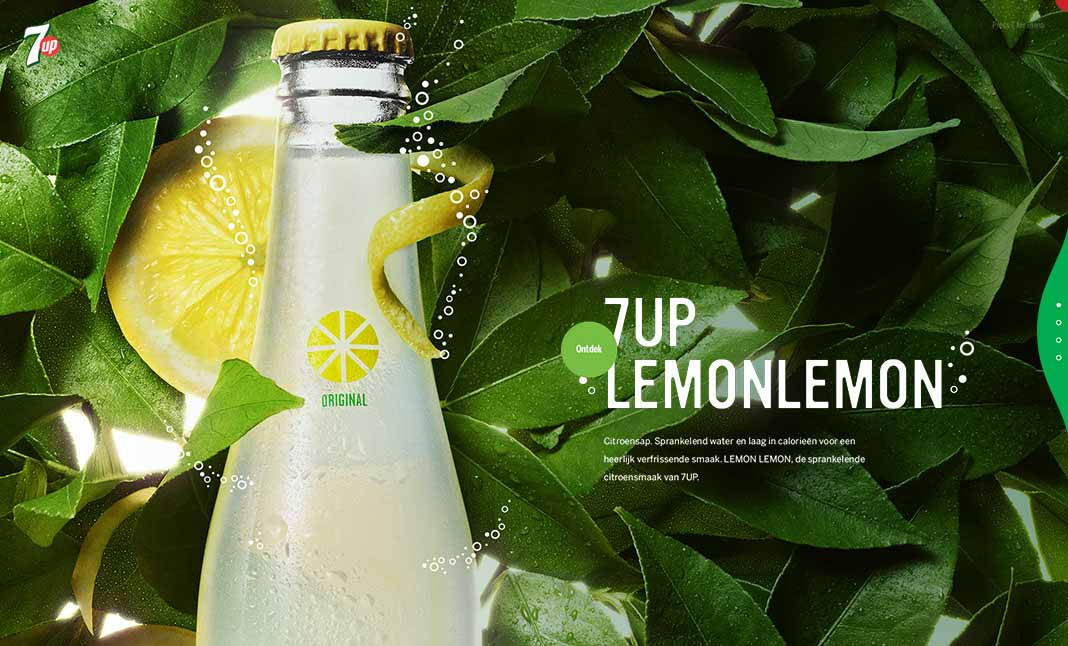 7UP website
