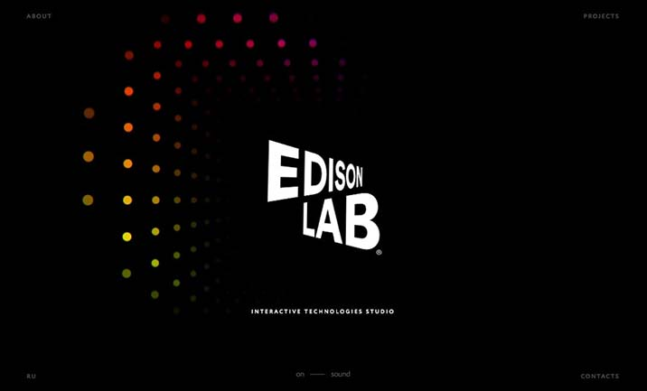 Edison Lab website