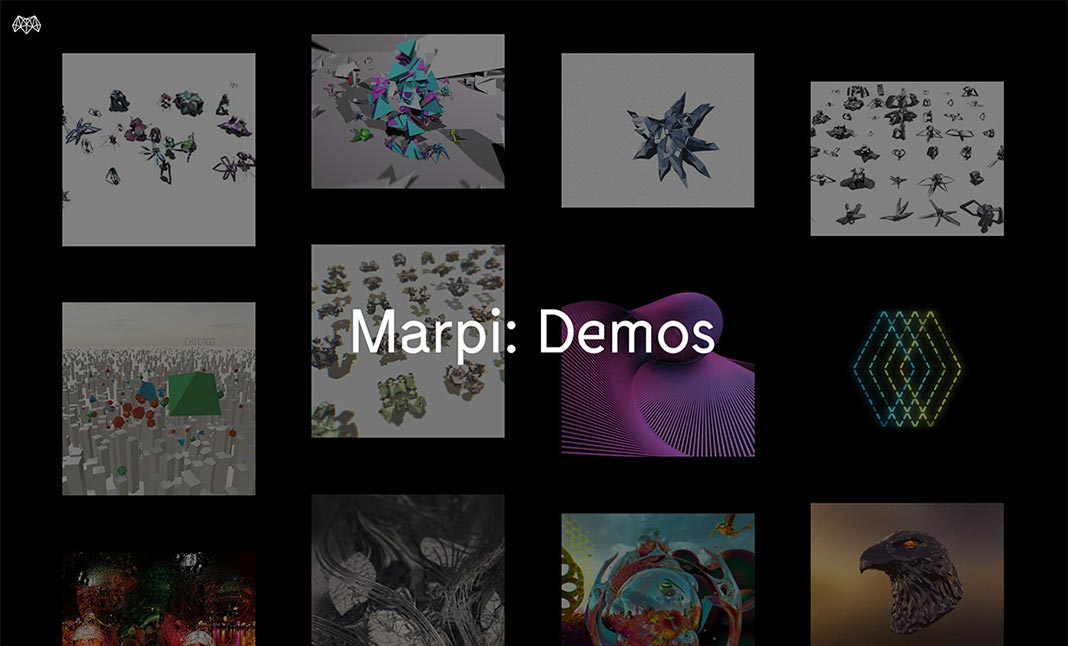 Marpi: Demos website