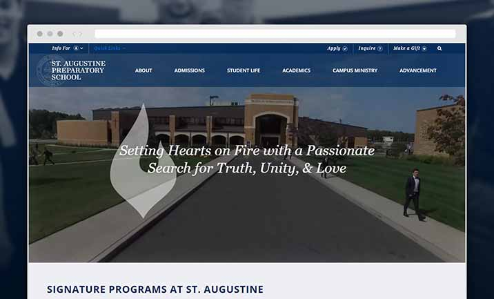 St. Augustine Preparatory School website