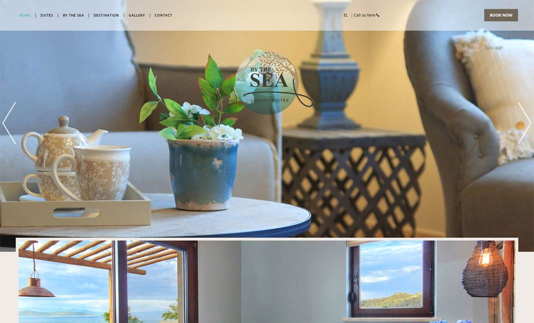 Bythesea Luxury Suites website