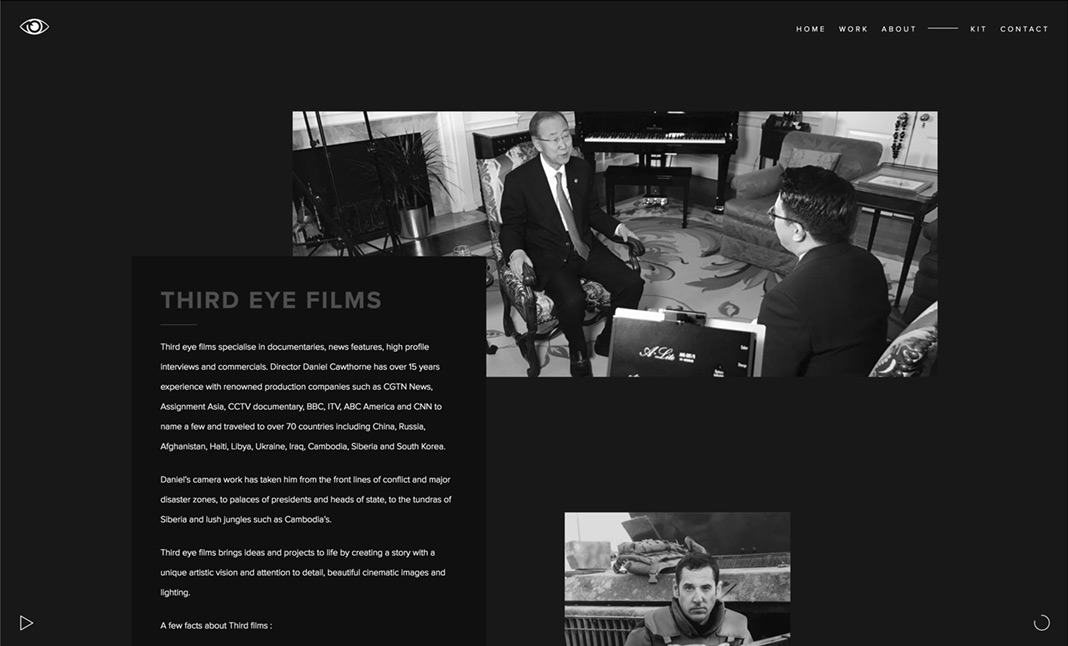 Third Eye Films website