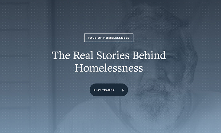 Face of Homelessness website