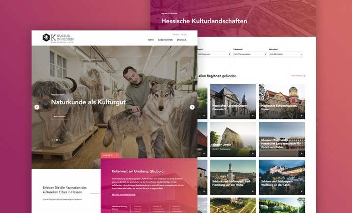 Kultur in Hessen website
