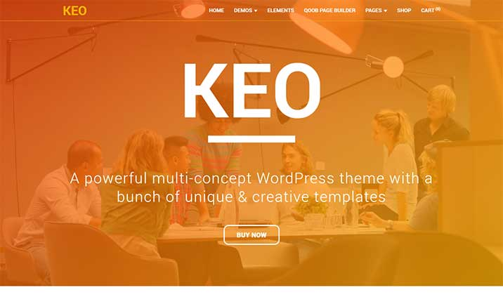 KEO MultiPurpose WordPress Theme