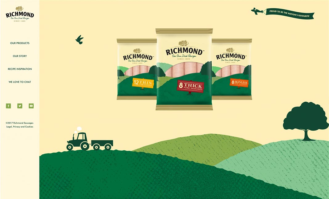 Richmond Sausages website