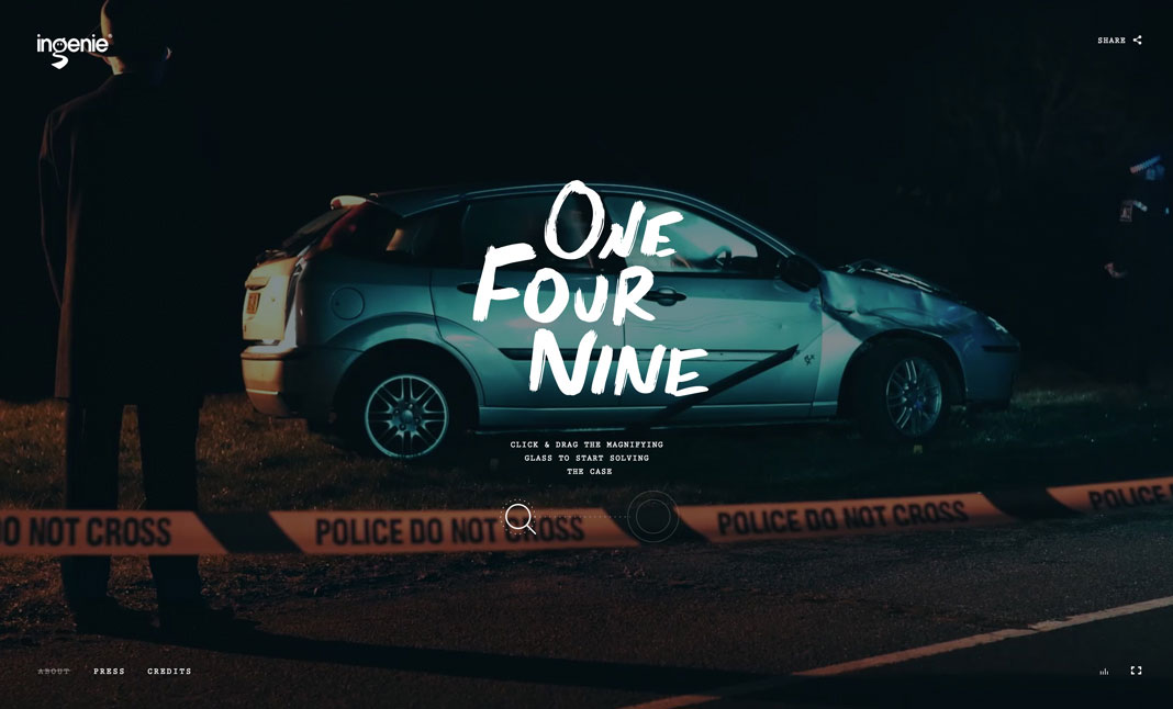 One Four Nine website