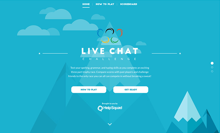 Live Chat Challenge website