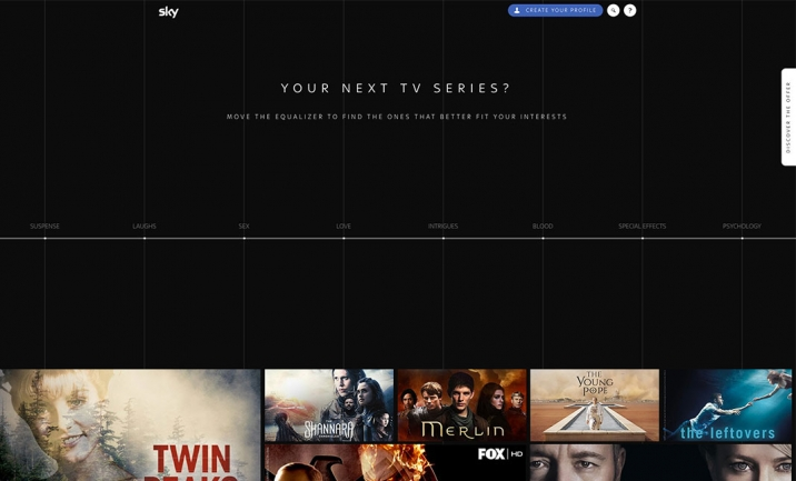 TV Series Equalizer website