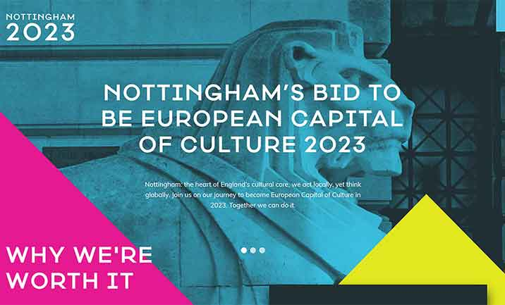 Nottingham 2023 website