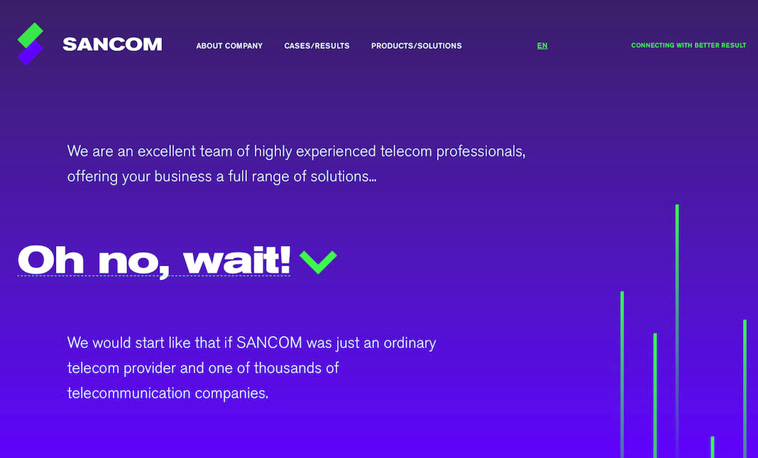 SANCOM website