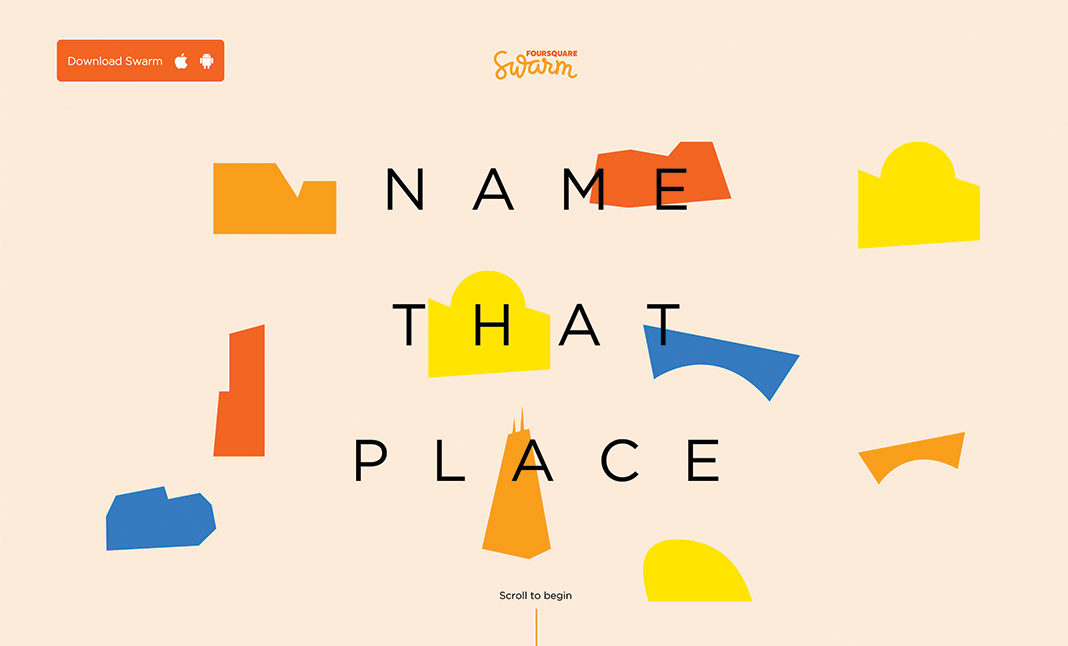 Name That Place  website