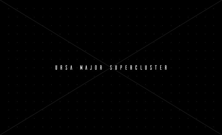 URSA MAJOR SUPERCLUSTER website