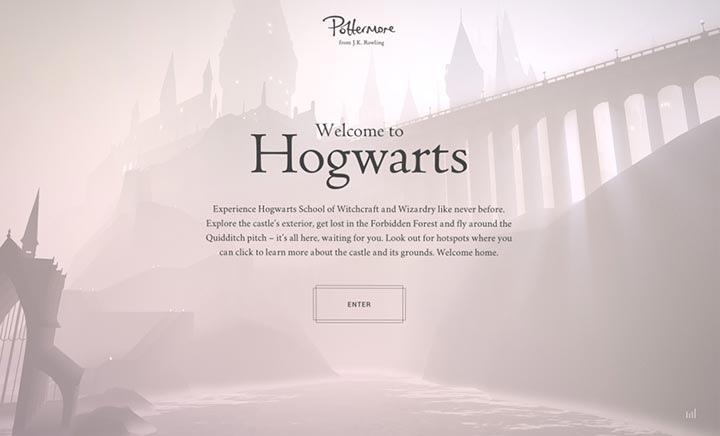 Welcome to Hogwarts website