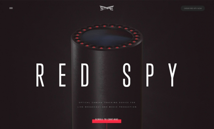 Red Spy website