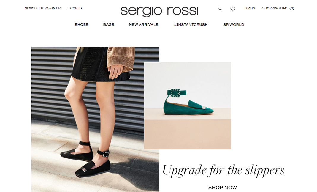 Sergio Rossi website
