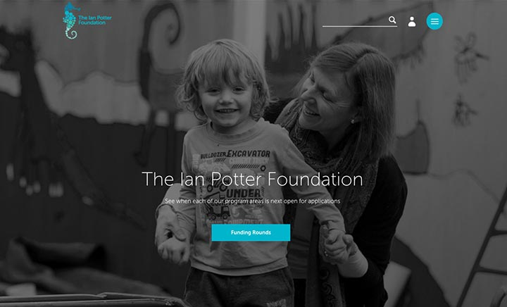 Ian Potter Foundation website