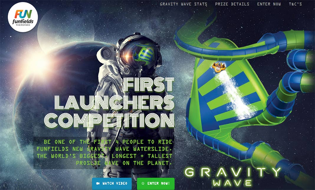 First Launchers Competition website