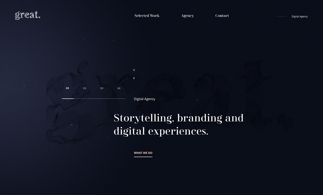 The Great Agency website