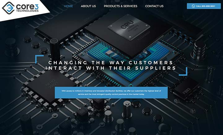Core 3 Technologies website