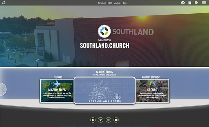 Southland Church website
