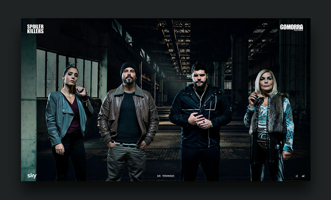 Gomorra Spoiler Killers website