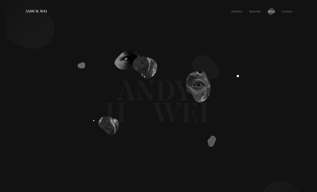 Andy H. Wei - Portfolio screenshot 3