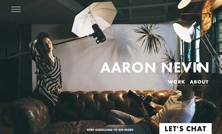 Aaron Nevin Studio website
