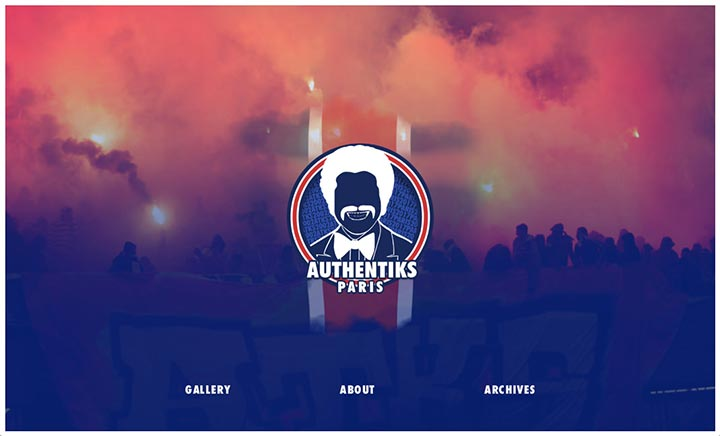 Authentiks Paris XV website