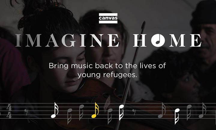 Imagine Home website
