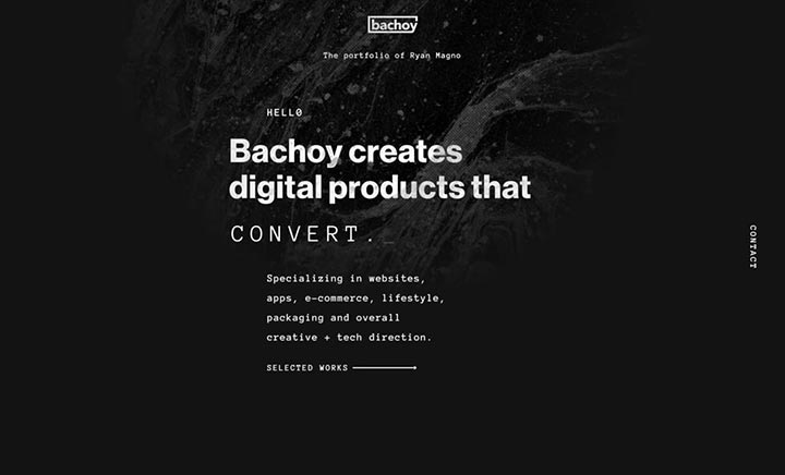 Bachoy website