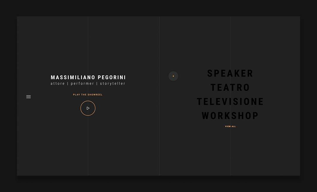 Massimiliano Pegorini website