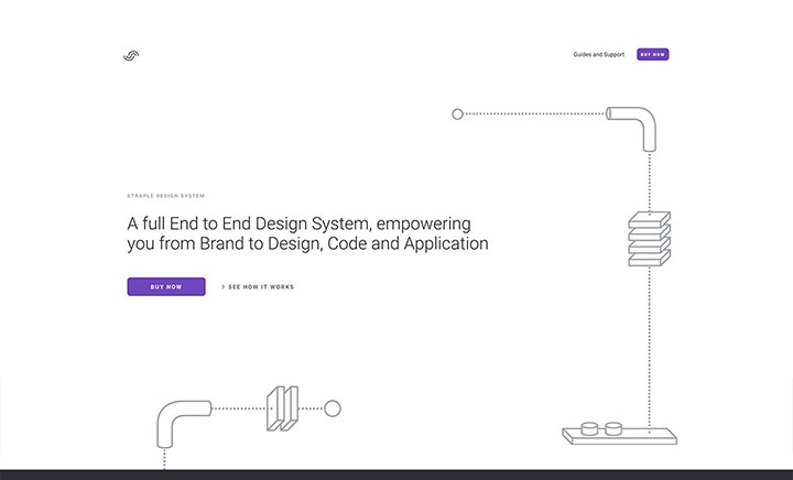 Straple Design System website