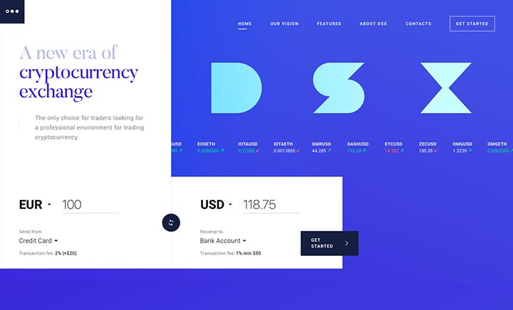 DSX Cryptocurrency Exchange