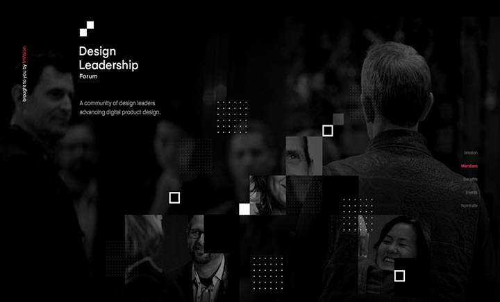 Design Leadership Forum website