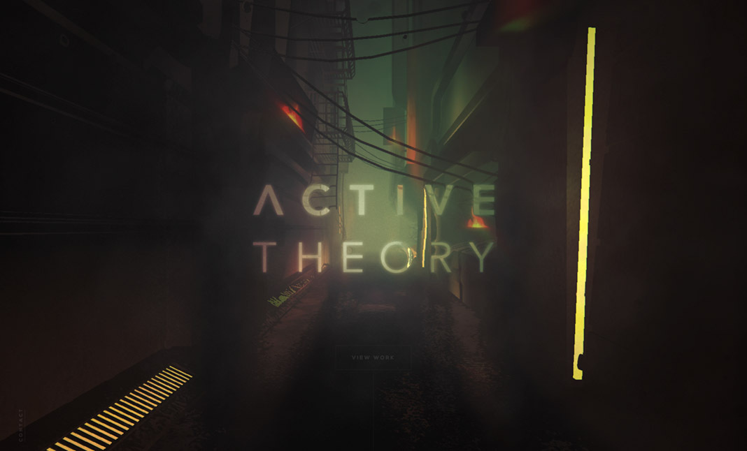 Active Theory v4 screenshot 3