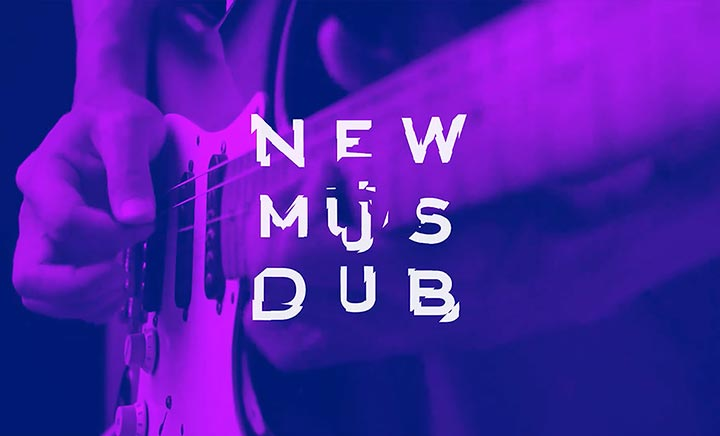 New Music Dublin website
